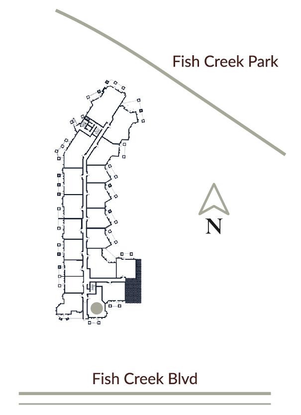 Unit F104 Location